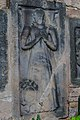 Jezbořice - Kostel svatého Václava 07 náhrobní kameny.jpg