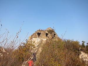 Jiankou - Watchtower in disrepair