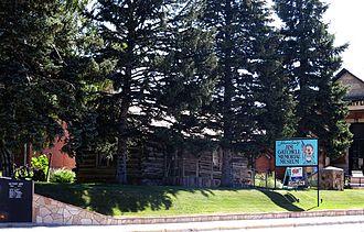 Buffalo, Wyoming - Jim Gatchell Memorial Museum in Buffalo, Wy.