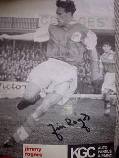 Jimmy Rogers (footballer) English footballer