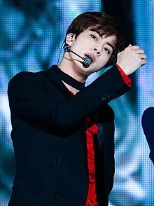Jin performing at Melon Music Awards, 19 November 2016 02.jpg