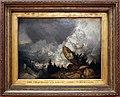 Jmw turner, la caduta di una valanga nei grigioni, ante 1810.jpg
