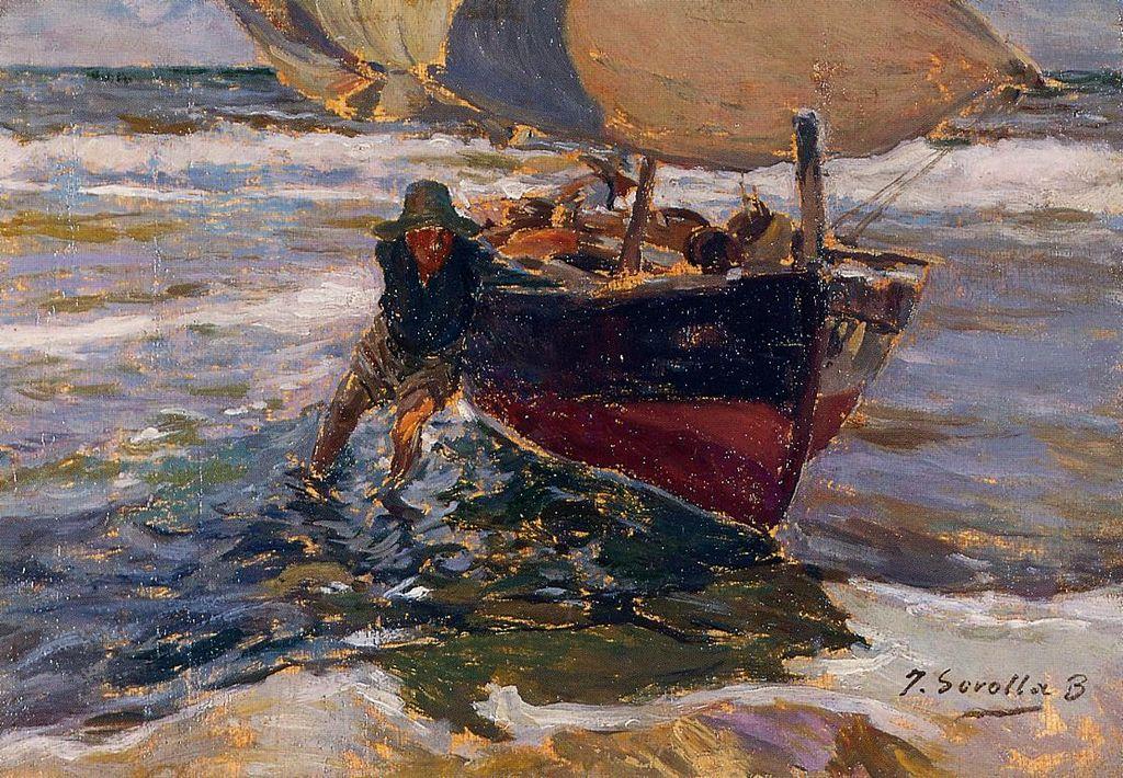 Joaquin Sorolla Beaching the Boat.jpg