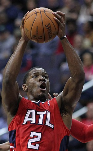 Joe Johnson (basketball) - Johnson as a member of the Atlanta Hawks