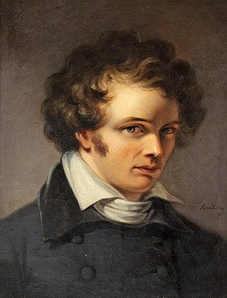 Bengt Erland Fogelberg - Bengt Fogelberg, portrait by Johan Gustaf Sandberg