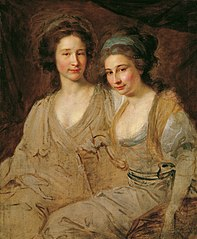 Die Gräfinnen Caroline und Zoe Thomatis