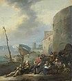 Johannes Lingelbach - Italiaanse haven.jpg