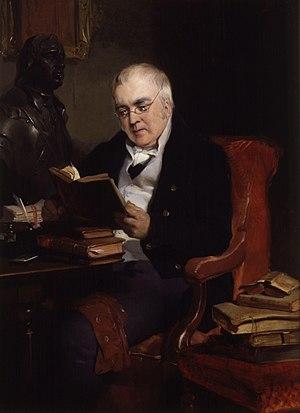 John Allen (historian) - Portrait of John Allen by Edwin Henry Landseer, 1836