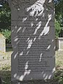 John Buckett's poetic gravestone, Old St Peter's Churchyard, Stockbridge - geograph.org.uk - 213568.jpg