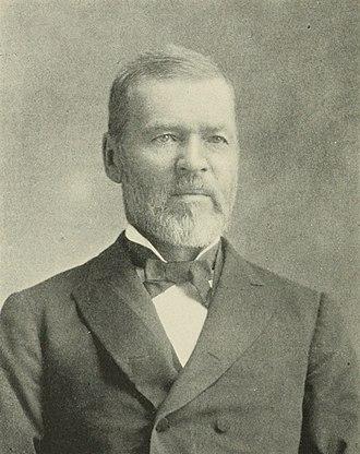 John H. Gear - Image: John Henry Gear Senator