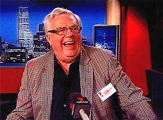 John K. Watts - John K. Watts at Channel 7 Studios Perth, 2009
