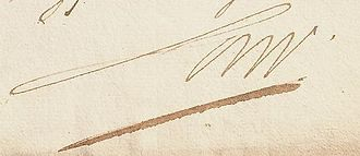 John Law (economist) - Image: John Law signature