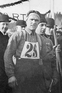 John Lindgren Swedish cross-country skier