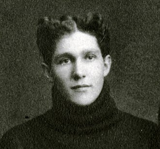 John McLean (athlete) - McLean, cropped from 1898 Michigan team photograph