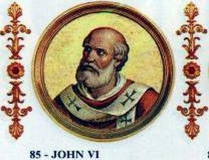 Pope John VI - Image: John VI