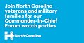 Join North Carolina veterans and military families for our Comander-in-Chief Forum watch parties.jpg