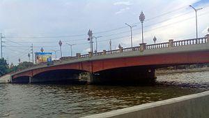 Jones Bridge - The present Jones Bridge in 2016