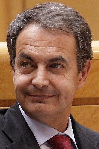2011 Spanish local elections - Image: José Luis Rodríguez Zapatero 2011c (cropped)