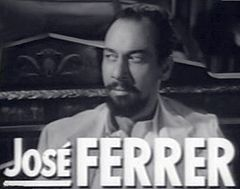 José Ferrer i trailern till filmen Operation X (1950).