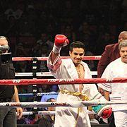 Jose Zepeda at his fight again Luis Arceo at the Thomas & Mack Center Las Vegas.jpg