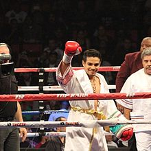 Jose Zepeda at his fight again Luis Arceo at the Thomas & Mack Center Las Vegas.jpg