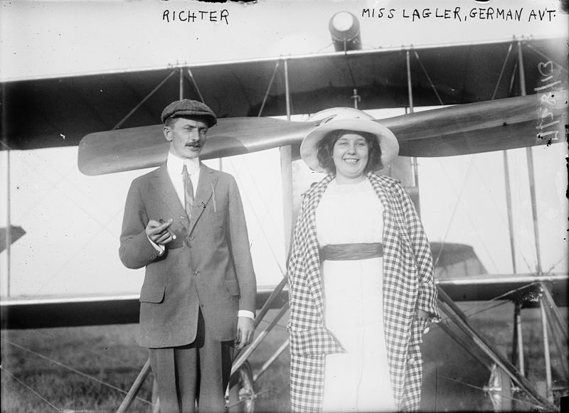 File:Joseph P. Richter and Bozena Laglerova.jpg