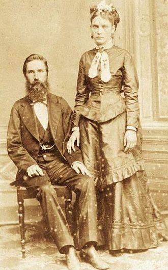 Confederados - Confederate immigrants Joseph Whitaker and Isabel Norris
