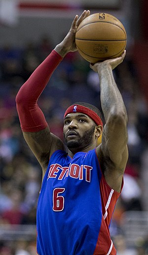 Josh Smith - Smith with the Pistons in January 2014