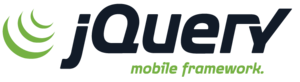 English: jQuery Mobile logo.