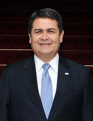 Honduran general election, 2013 - Image: Juan Orlando Hernández, May 2015
