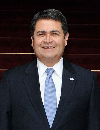 President of Honduras - Image: Juan Orlando Hernández, May 2015
