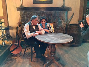 Judd Hirsch - Starring with Kathryn Kates as the co-hosts of Small Miracles, a new series by Moshe Mones.