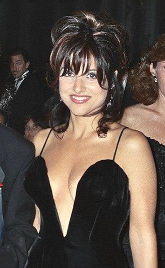 Julia Louis-Dreyfus - Louis-Dreyfus at the 47th Emmy Awards ceremony in September 1995