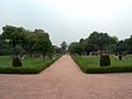 July 9 2005 - The Lahore Fort-Looking west infront of Hall of public audience.jpg