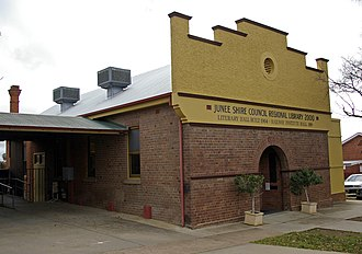 Junee Shire - Image: Junee Shire Council Regional Library