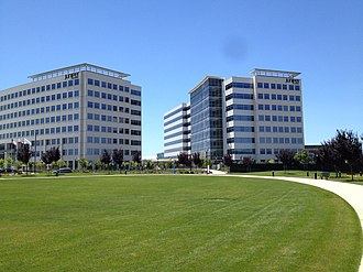 Juniper Networks - Juniper's headquarters in Sunnyvale
