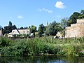 Just about to go under the first of the Wansford bridges - August 2013 - panoramio.jpg