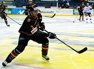 German ice hockey player