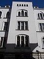 Juts out from the facade. - 3 Országház Street, 2016 Budapest.jpg