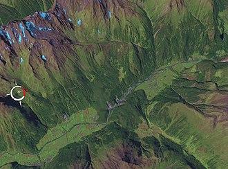 Sturzstrom - Image: Köfels Landslide