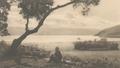 KITLV - 101144 - Kleingrothe, C.J. - Medan - Lake Toba at Boho, Sumatra - circa 1905.tif