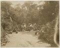 KITLV - 39074 - Muller, Julius Eduard - Paramaribo - Miners take a break on their way to the gold fields in a Maroon village in Surinam - circa 1885.tiff