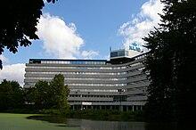 La sede di KLM