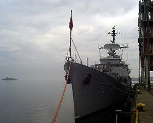 HNoMS Narvik in 2006