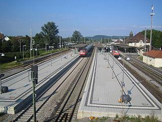 Karlsruhe-Durlach station railway station in Karlsruhe, Germany