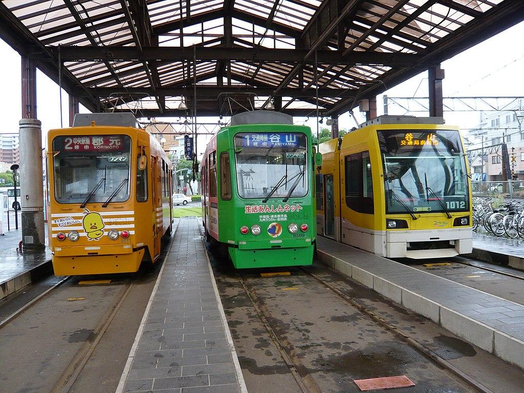 Kagoshima station Kagoshima tram 027