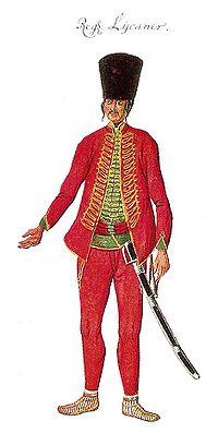 Kaiserliches infanterieregiment no. 60 albertina-handschrift 1762