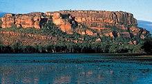 Il monte di Nourlangie nel Parco nazionale Kakadu