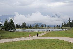 Seefeld in Tirol - The Kaltwassersee.