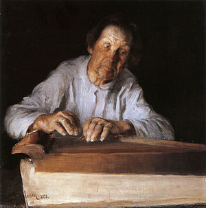 Pekka Halonen - The Kantele Player